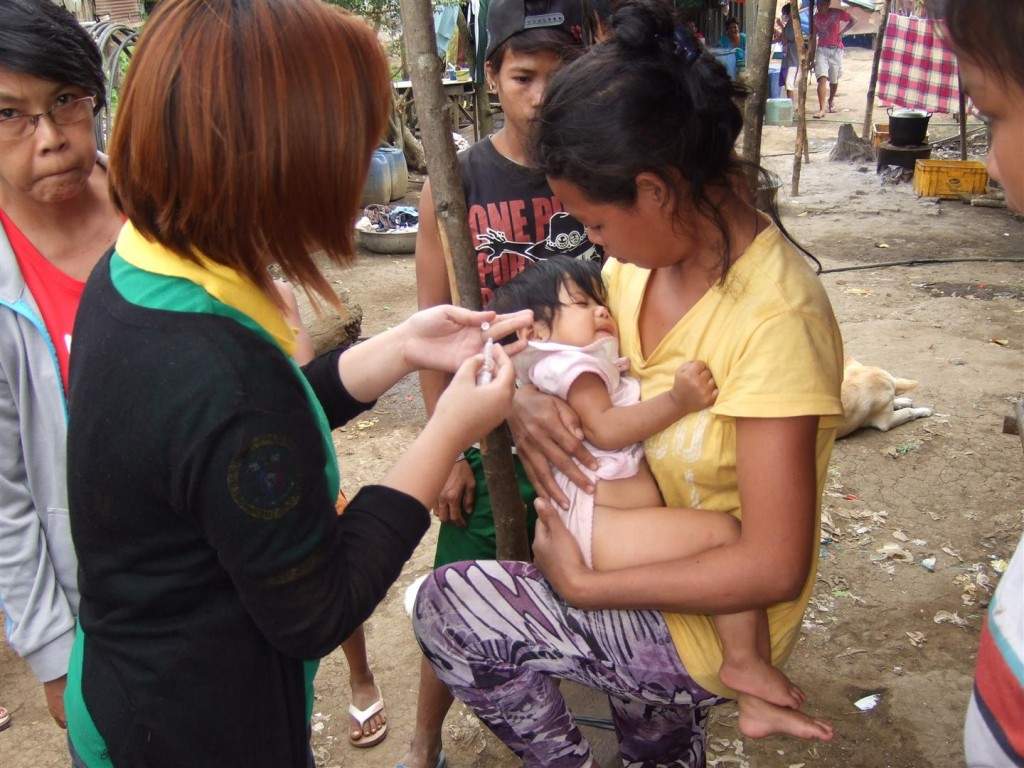 Immunization for children under five years old 01