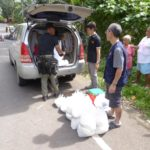 Orderly and fair distribution of rice to all family