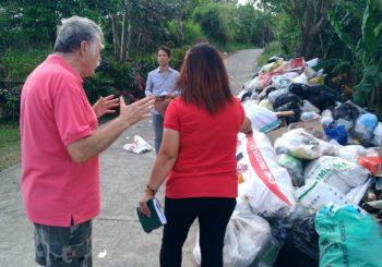 Improper garbage collection has created a health hazard