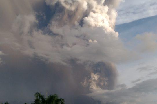 2020 Taal Volcano Eruption