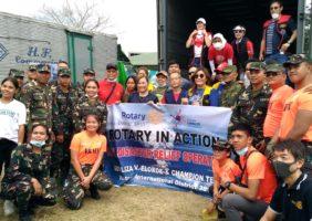 2020 Taal Volcano Eruption Assisting Evacuees