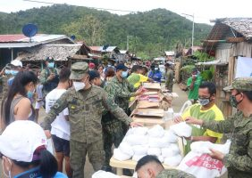 Typhoon Ulysses Emergency Food Donation and Its Distribution